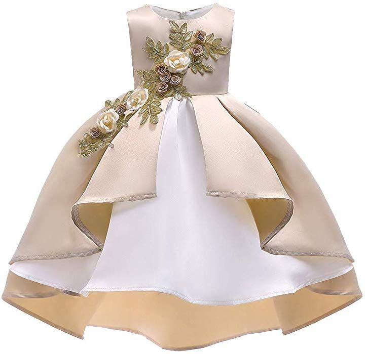 Vestiti Eleganti Da Cerimonia Per Ragazze.Topgrowth Vestito Per Cerimonie Da Bambina Elegante Ragazze Abito