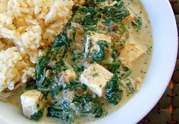 Searching for the perfect Palak Paneer Recipe.  This method looks easy to adapt to frozen spinach.  But might need different recipe for spices.