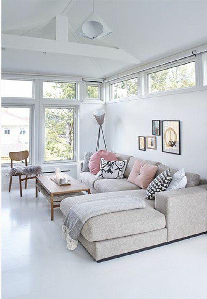 25 best ideas about canape salon on pinterest salon cosy deco salon and deco. Black Bedroom Furniture Sets. Home Design Ideas