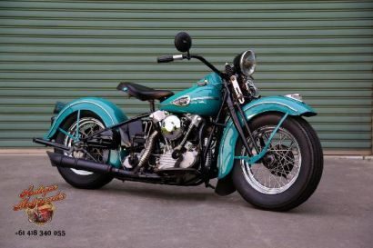 Harley Davidson Knucklehead for Sale on Classic & Race Bike