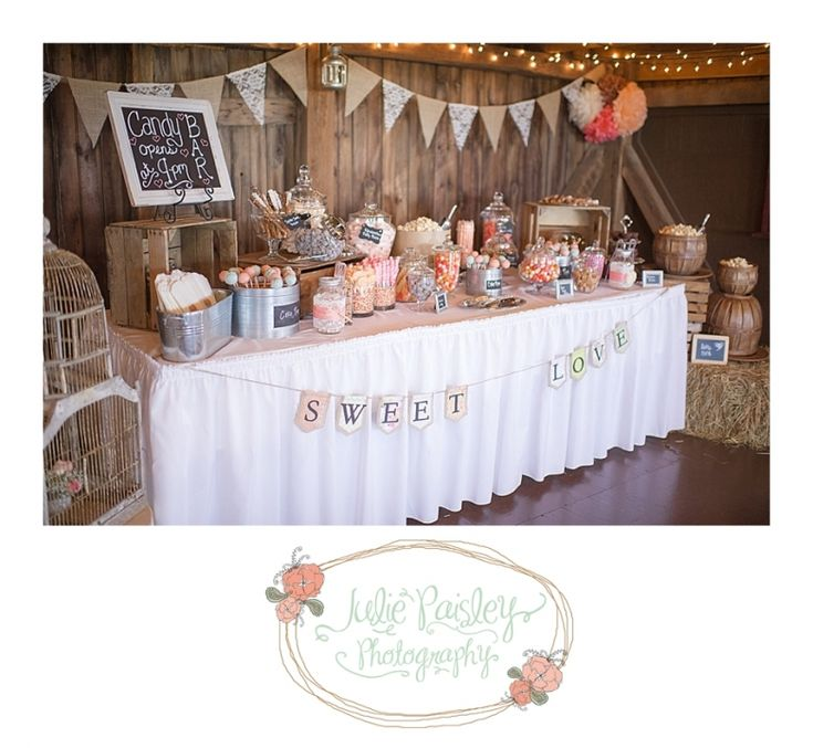 Rustic Wedding Candy Table Ideas: Best 25+ Rustic Candy Bar Ideas On Pinterest
