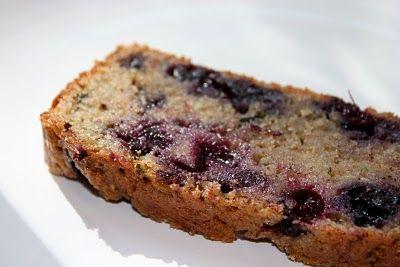 blueberry zuchinni bread