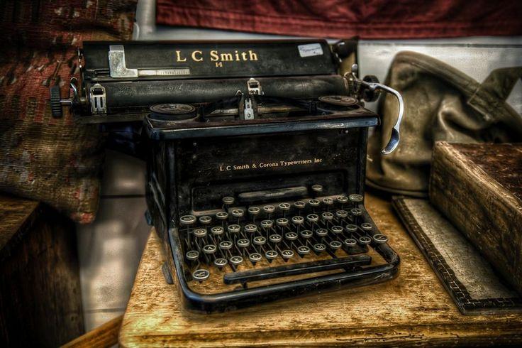 Smith & Corona   Photo by Len Saltiel