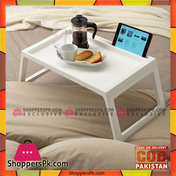 Buy Plastic Breakfast Bed Tray Table With Ipad Holder At Best Price In Pakistan Bed Tray Table Bed Tray Bed Table