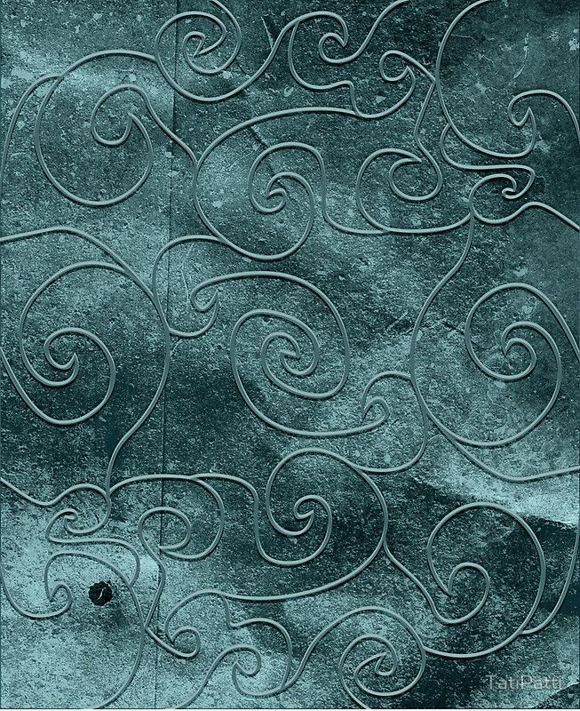 Gray swirls, case available for iPhone, iPad and Samsung Galaxy!
