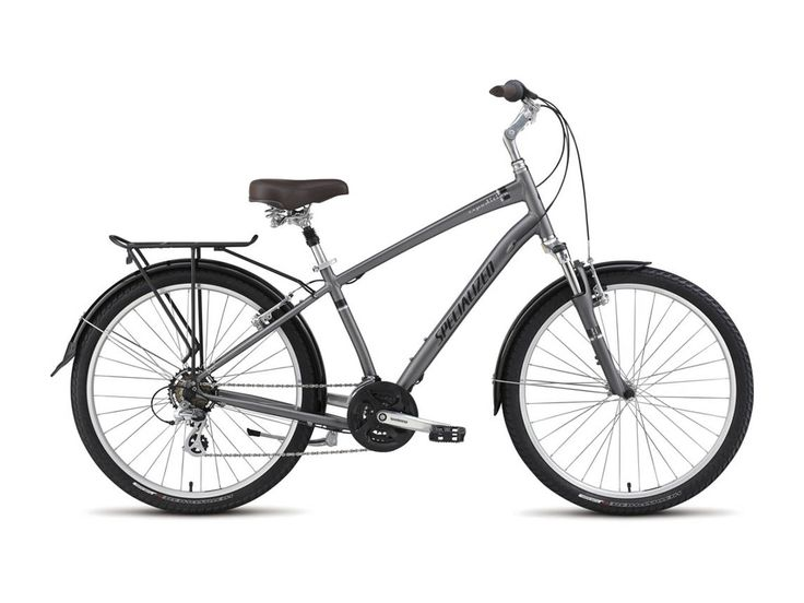 Specialized Expedition Sport FR 2016, charcoal - Cityrad