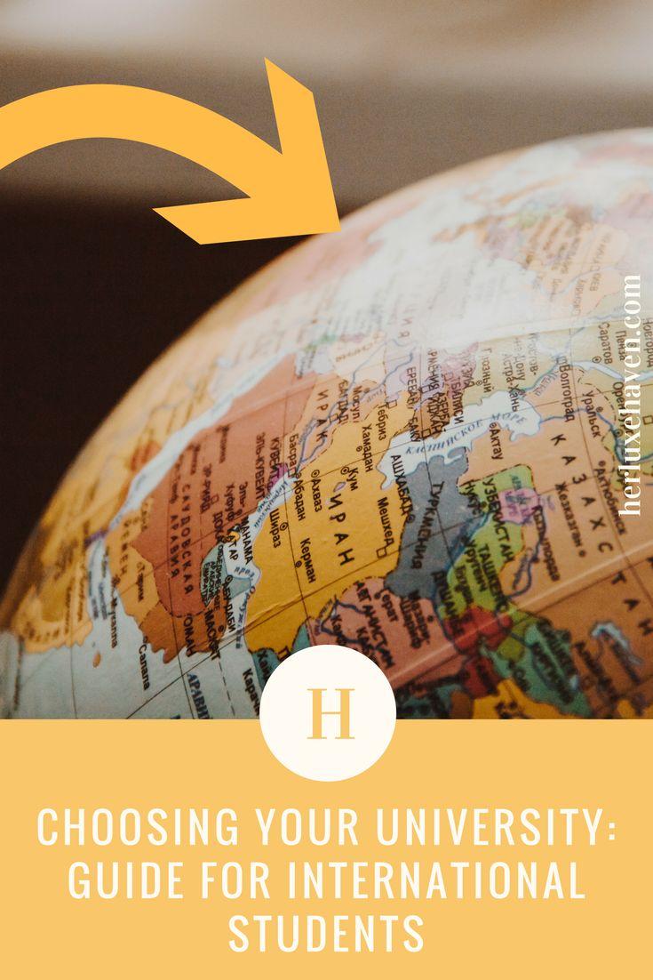 International Student guide to University.