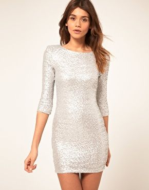 17 Best ideas about White Sequin Dress on Pinterest | Silver ...