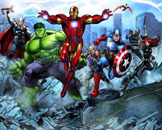 bol.com   Walltastic The Avengers 42025   Klussen