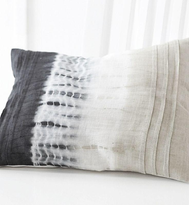 shibori pillow