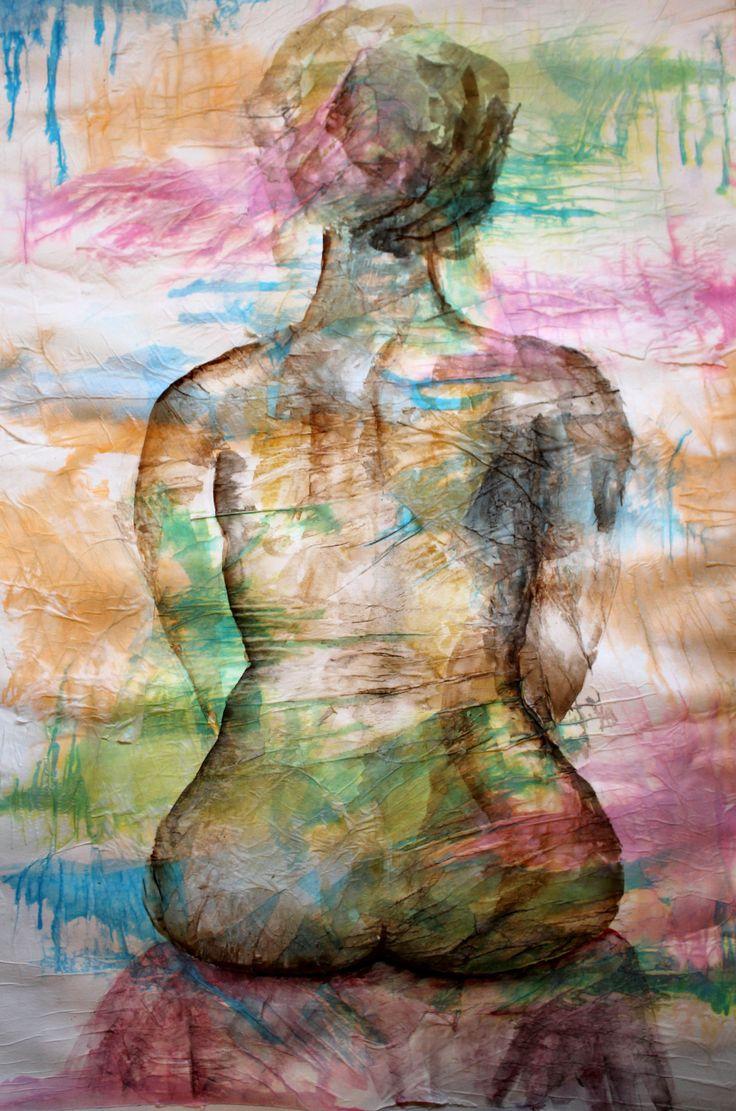 Tecnica mista carta velina+ecoline. Allieva: Alice Capuano 3B. Indirizzo arti Figurative. A.S. 2015/2016 Liceo Artistico Stagio Stagi Pietrasanta