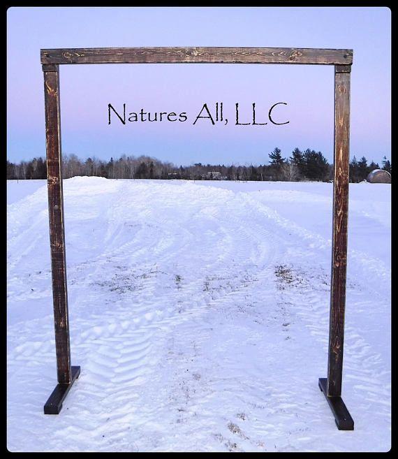 Rustic Wedding Altar Ideas: Best 25+ Rustic Wedding Arches Ideas On Pinterest