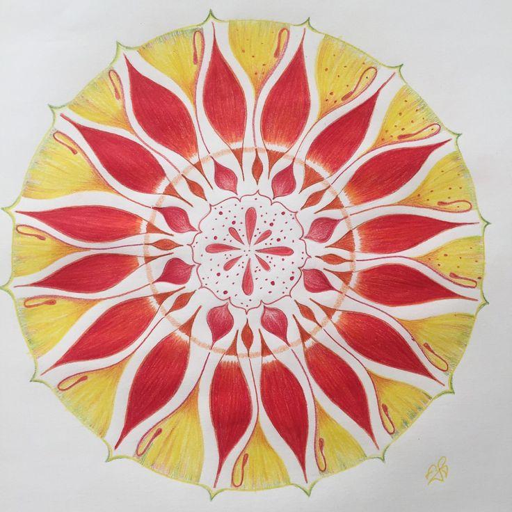 Malování mandaly