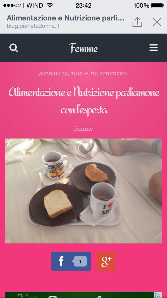 Nutrizione e alimentazione intervista alla coach alimentare Grazia Votoli su femme il blog di valentina collu.