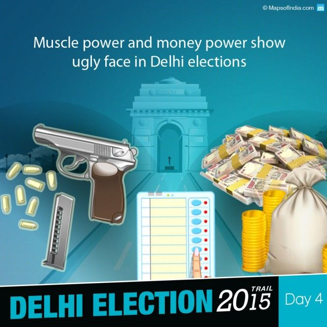 Has muscle power and money power shown its ugly face in Delhi elections, too?