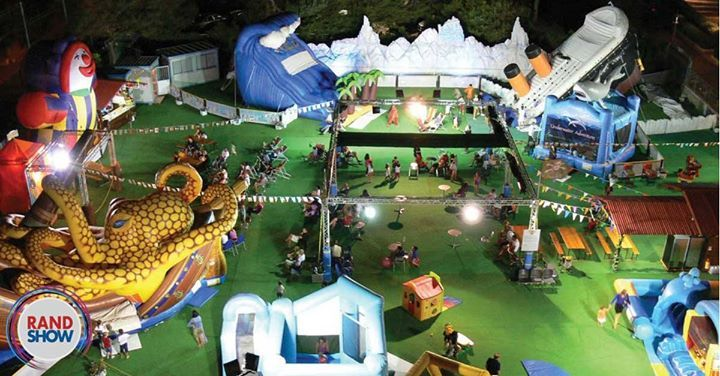 Pirates Paradise: a giant playland imported from Italy with attractions never before seen in South Africa. Only at the Rand Show