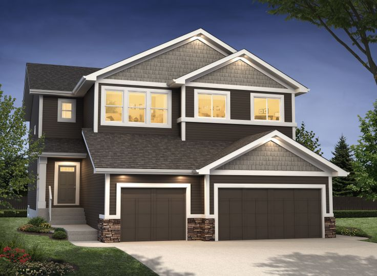 Our Prescot / Palermo Duplex ~ Available in Southfork, Leduc www.dolcevitahomes.ca