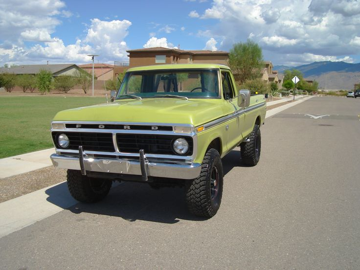 5446 Best Images About 70 S Classic Ford Trucks On