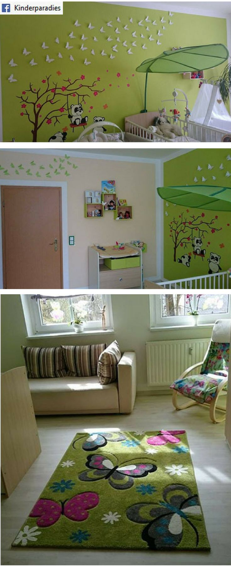 Toll Kinderzimmer Von Nancy Regner ▻ Wandtattoo Panda: Http://amzn.to/