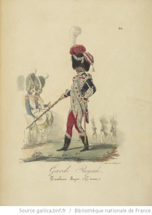 [Maison du Roi et garde royale de Louis XVIII, 1817.] / Ch. Aubry - 25