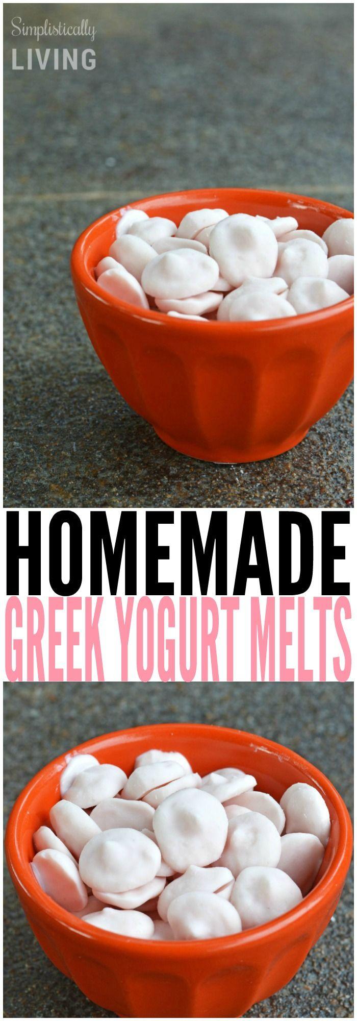 Homemade Greek Yogurt Melts made with @Chobani yogurt! #sp #ChobaniKids