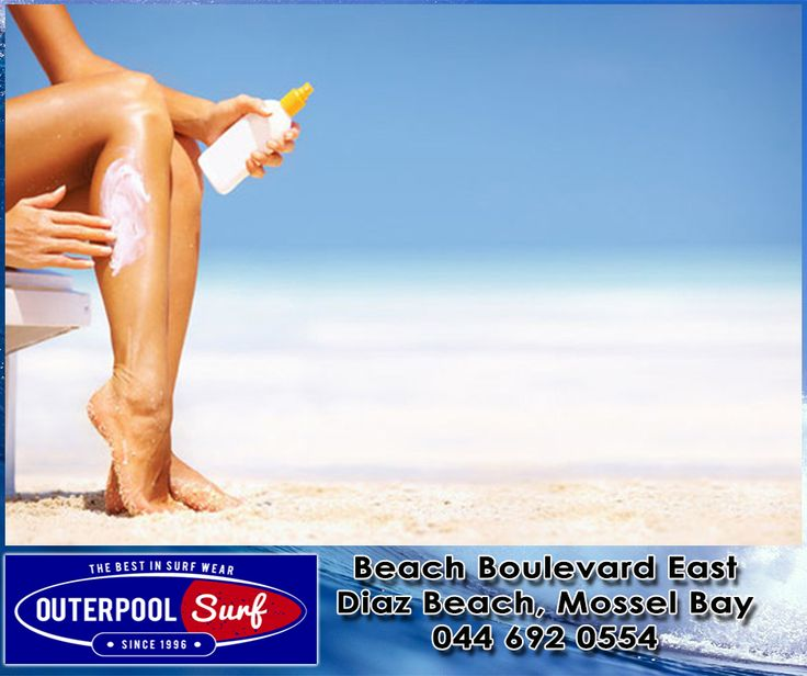 If the sunscreen is waterproof, let it dry 30 minutes before going in the water. #Waterproof #Sunscreen #SummerTips