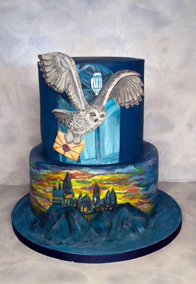Dort na téma Harry Potter. Harry Potter Cake.