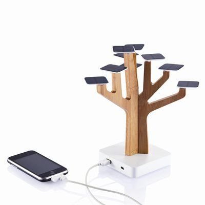 Solar Tree Charger | Opuszone.com