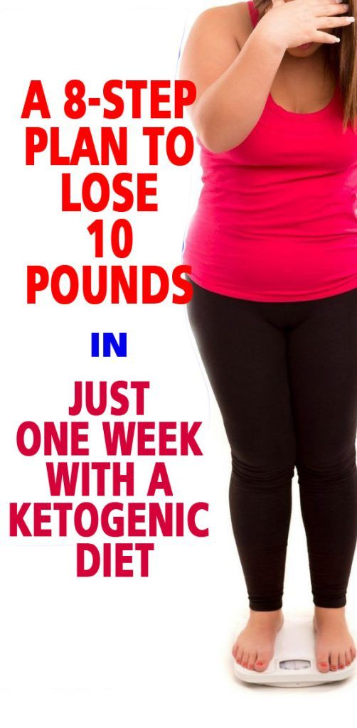 A 8-Step Plan to Lose 10 Pounds in Just One Week With A Ketogenic Diet
