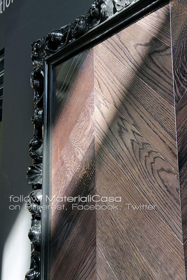 Superficie superglossy per questa collezione in parquet Garbelotto #Cersaie2014 #RealWood Company: Garbelotto parquet (Italy)
