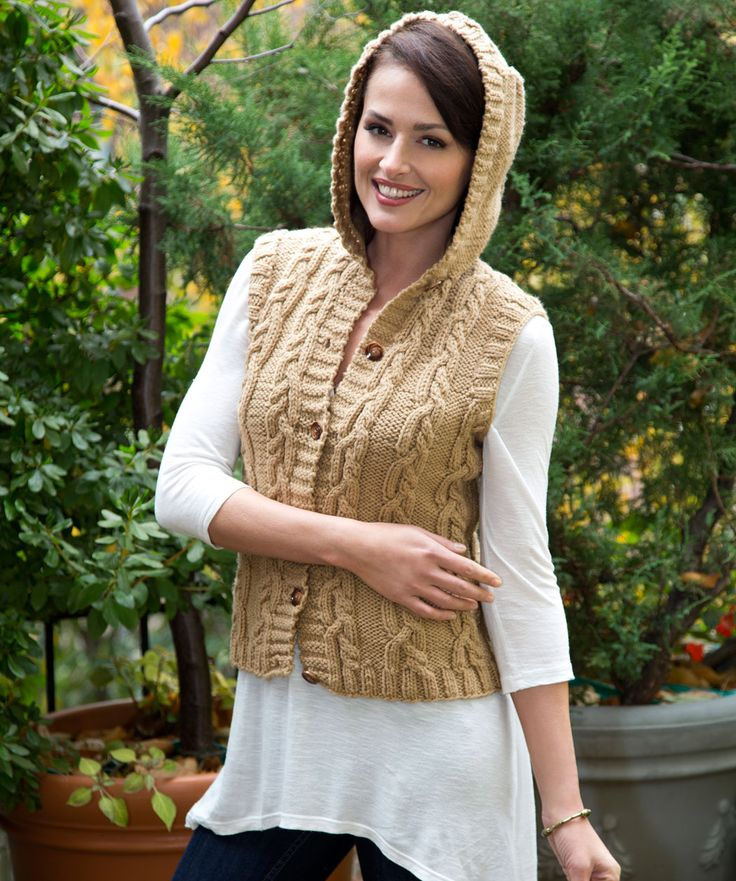 162 best Knitting 1C - Vests images on Pinterest | Knit patterns ...