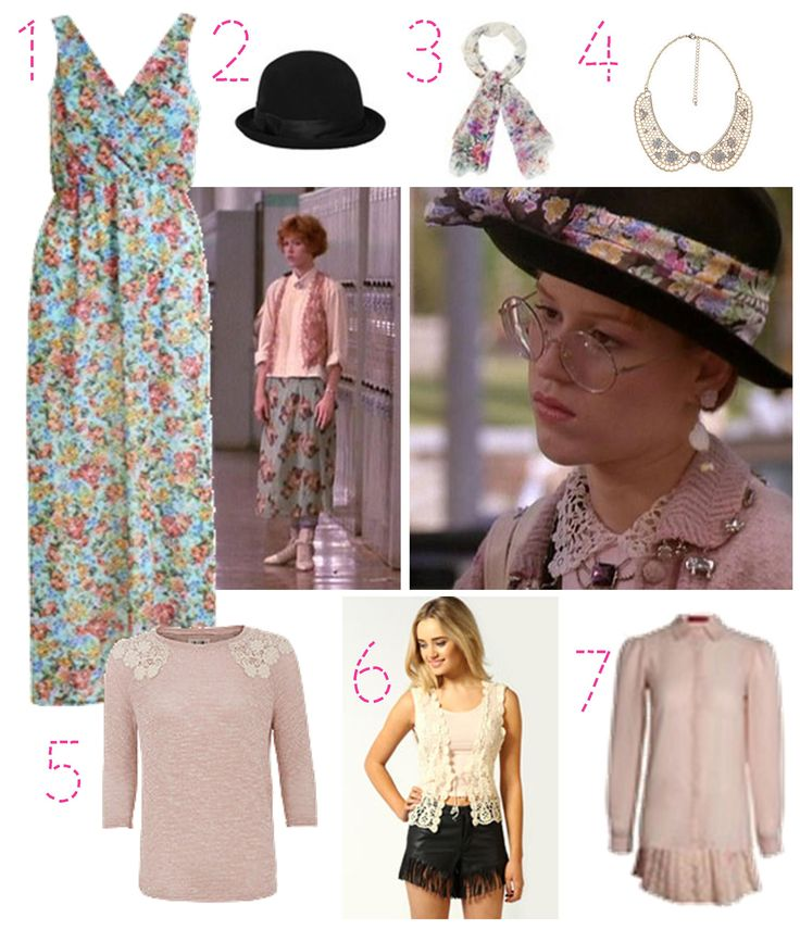 Pretty in Pink - Get the 80s granny chic look