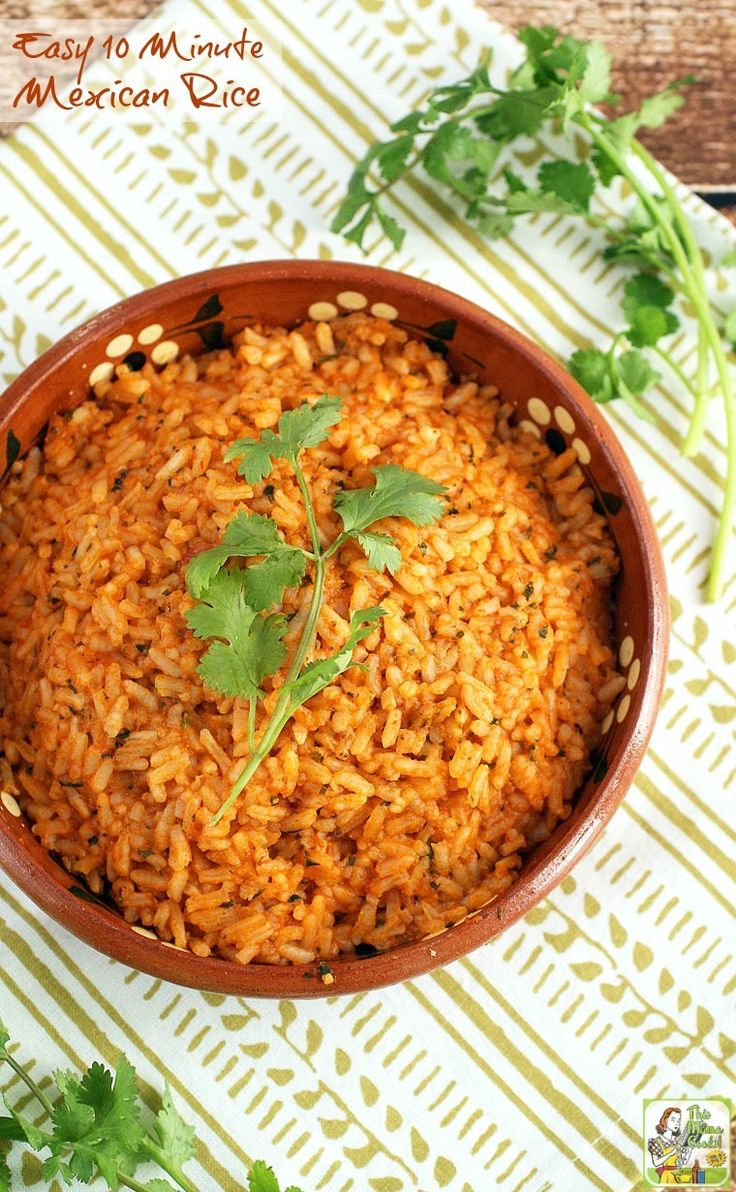 2383 best one pot meals images on pinterest rezepte breakfast and its not taco night unless you have mexican restaurant style rice its so simple to prepare if you have this easy 10 minute mexican rice recipe forumfinder Choice Image