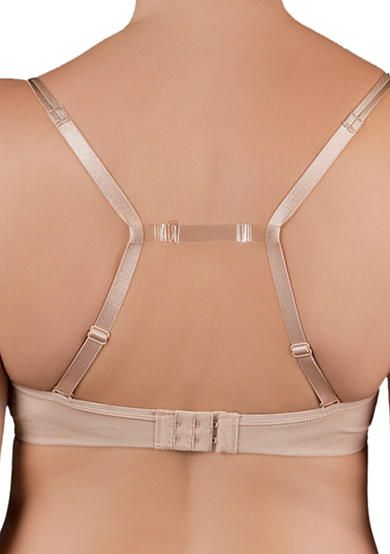 TPU clear back bra strap
