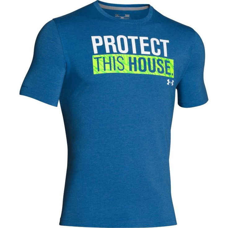 Under Armour Men's PTH Graphic T-Shirt, Size: Large, Blue