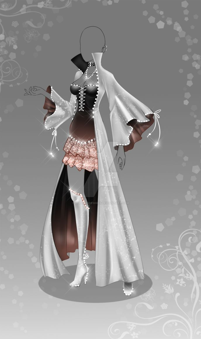 (closed) Auction Adopt - Outfit 382 by CherrysDesigns