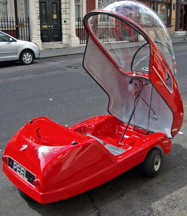 Peel electric mini-car