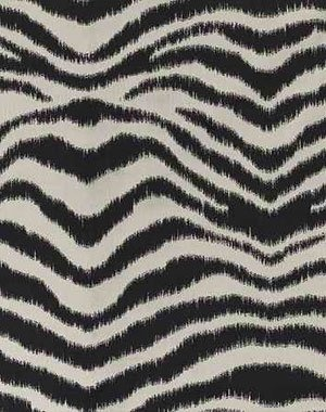 In honor of the new zebra wall designs of the City 205 building...   tissu malawi de pierre frey