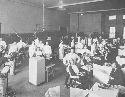 Dentaltown - The University of Tennessee Health Science Dental Center 1920.