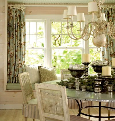 17 best images about kitchen window treatments on for Formal dining room window treatments