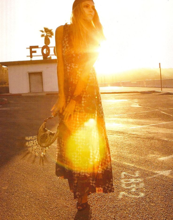 a-state-of-bliss:  L'Officiel Fr July 2008 'Endless Summer' - Valentina Zelyaeva by Dan Martensen