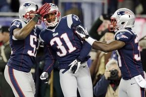Defense, special teams boost Patriots; Gronkowski injured - Alfonzo Dennard watched himself on the video board as he raced 87 yards with an interception for a touchdown. He wanted to see if the star rookie who threw the pass might catch him. Read more in Bulletin Sports: http://www.norwichbulletin.com/carousel/x1978605003/Defense-special-teams-boost-Patriots-Gronkowski-injured #nfl #newengland #patriots #gronk #football