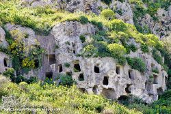 The rocky necropolis of Pantalica, an Unesco world heritage in Sicily