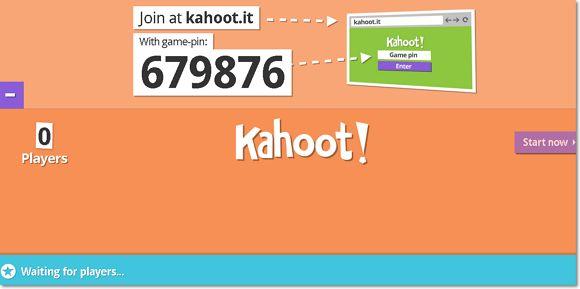 Kahoot es un sistema de respuestas en el aula basado en el juego – para escuelas, universidades y empresas. Kahoot es un nuevo servicio para la entrega de cuestionarios y encuestas en línea p…