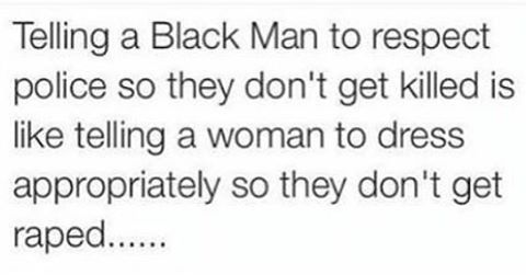 Definitely.  #victimblaming #blacklivesmatter #CreatingConsentCulture #racism…