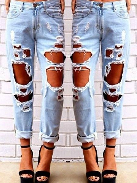 25  best ideas about Distress jeans on Pinterest | Distressing ...