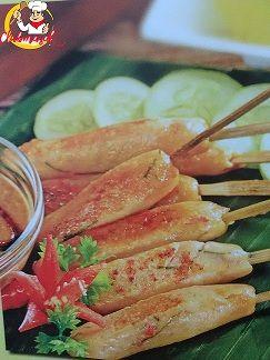 Resep Sajian Sate Ikan, Bumbu Sate, Club Masak