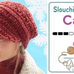 Crochet Slouchy Peak Cap + Tutorial