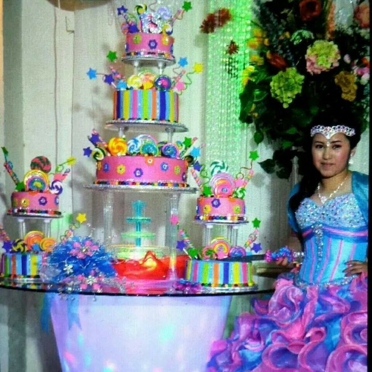 Quinceanera Themes Candyland