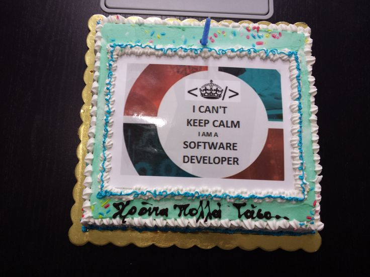 Happy Birtday Tom! I Can't Keep Calm I Am a Software Developer